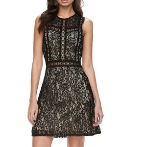 Disney Beauty & the Beast black lace dress